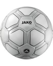 JAKO Wedstrijdbal Striker 32 p./handgenaaid wit/zilvergrijs/zwart