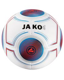 JAKO Bal Futsal Light 14 p./handgenaaid wit/JAKO blauw/flame-360g