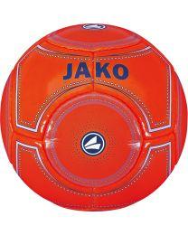 JAKO Minibal 14 p./machinegenaaid flame/nachtblauw