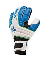 JAKO Keeperhandschoen Champ Giga WRC Protection wit/JAKO blauw/fluo groen