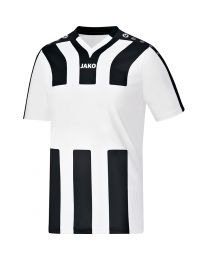 JAKO Shirt Santos KM wit/zwart