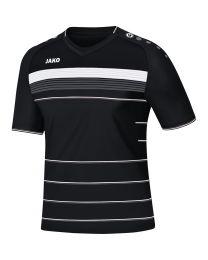 JAKO Shirt Champ KM zwart/wit/antraciet