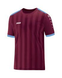 JAKO Shirt Porto 2.0 KM bordeaux/hemelsblauw
