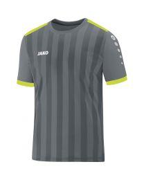 JAKO Shirt Porto 2.0 KM steengrijs/lime