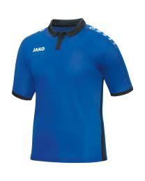 JAKO Shirt Derby KM royal/zwart