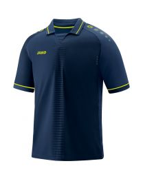 JAKO Shirt Competition 2.0 KM navy/lemon