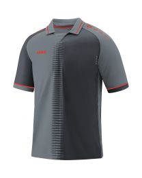JAKO Shirt Competition 2.0 KM steengrijs/flame
