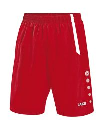 JAKO Short Turin rood/wit
