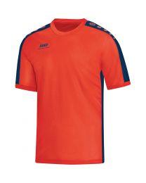 JAKO T-Shirt Striker flame/nachtblauw