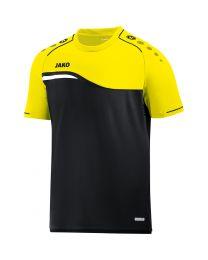 JAKO T-shirt Competition 2.0 zwart/fluo geel