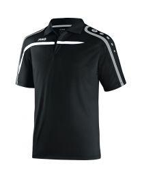 JAKO Polo Performance zwart/wit/grijs