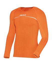 JAKO Shirt Comfort LM fluo oranje