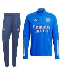 adidas Arsenal Trainingspak 2020-2021 Blauw Geel Roze