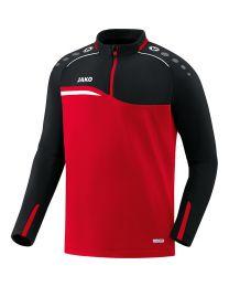 JAKO Ziptop Competition 2.0 rood/zwart