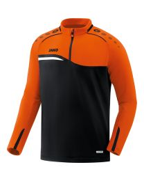JAKO Ziptop Competition 2.0 zwart/fluo oranje