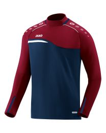 JAKO Sweater Competition 2.0 marine/donker rood