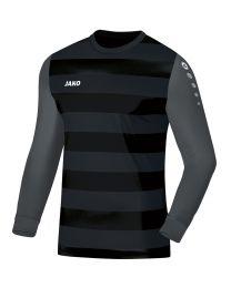 JAKO Keepershirt Leeds zwart/antraciet