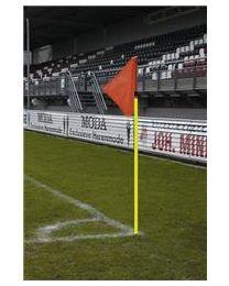 UEFA Hoekvlagstok PVC Doubletube 30 mm