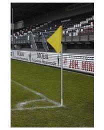 UEFA Hoekvlagstok PVC Doubletube Met Veer 30 mm