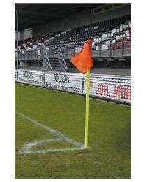 UEFA Hoekvlagstok PVC Doubletube 50 mm