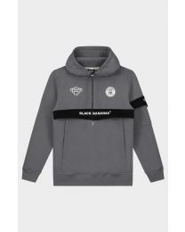 Black Bananas Anorak Captain Hoodie Grey