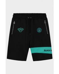 BLACK BANANAS COMMAND SHORT BLACK/AQUA