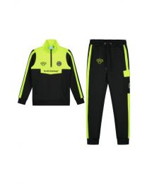 JR SPRINT TRACKSUIT NEON YELLOW