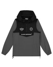 Black Bananas JR Block Anorak Windbreaker Grey
