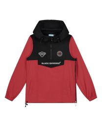 Black Bananas JR Block Anorak Windbreaker Rood