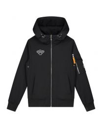 BLACK BANANAS JR SOFTSHELL JACKET BLACK