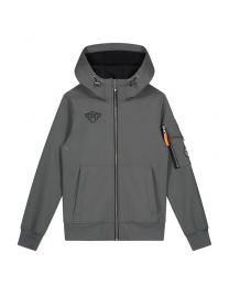 BLACK BANANAS JR SOFTSHELL JACKET GREY