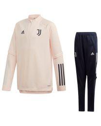 adidas Juventus Trainingspak 2020-2021 Kids Roze Zwart