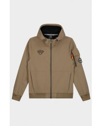 BLACK BANANAS SEATTLE SOFTSHELL JACKET SAND