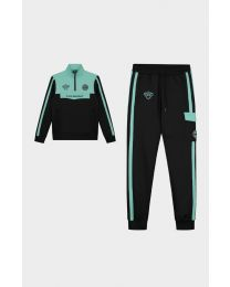 BLACK BANANAS SPRINT TRACKSUIT BLACK/MINT