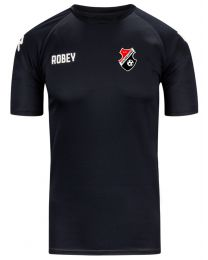 Training Shirt Zwart V.V. Hoogezand