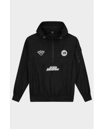 BLACK BANANAS WASHINGTON WINDBREAKER BLACK